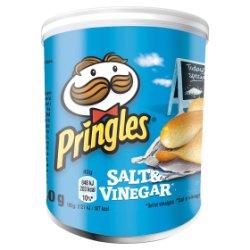 Pringles Salt & Vinegar Crisps, 40g