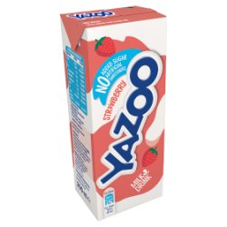 Yazoo No Added Sugar Strawberry 30 x 200ml