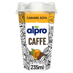 Alpro Caffè Latte Ethiopian Coffee and Soya Caramel Chilled Drink 235ml