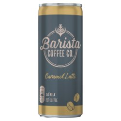 Barista Coffee Co. Caramel Latte 250ml