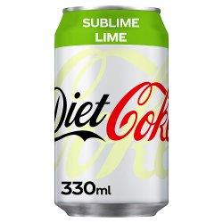 Diet Coke Sublime Lime 330ml