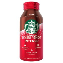 Starbucks Fairtrade Dark with A Splash of Milk Doubleshot Intenso 200ml