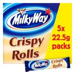Milky Way Crispy Rolls Chocolate Multipack 5 x 22.5g