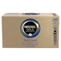 NESCAFÉ Gold Blend Decaffeinated Instant Coffee, 200 sachets x 1.8g
