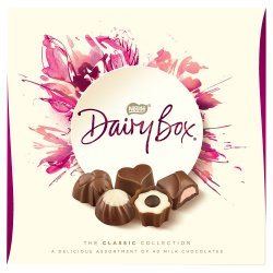Dairy Box Milk Chocolate Assortment Box 360g