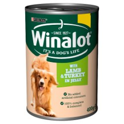 Winalot with Lamb & Turkey in Jelly 400g