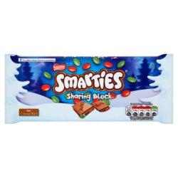 Nestlé Smarties Festive Sharing Block 100g