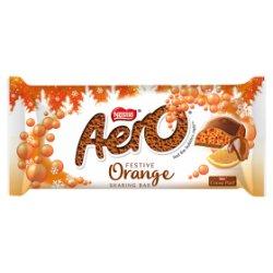 Aero Festive Orange Sharing Bar 100g