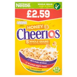 Cheerios Honey 375g