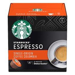 STARBUCKS by NESCAFÉ DOLCE GUSTO Single-Origin Colombia Medium Roast Espresso Coffee Pods, 66g