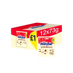 Milkybar Cookies & Cream White Chocolate Bites Sharing Bag 73g
