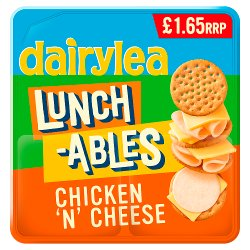 Dairylea Lunchables Chicken 'n' Cheese £1.65 68.3g