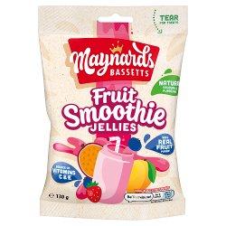 Maynards Bassetts Fruit Smoothie Jellies Sweets Bag 130g