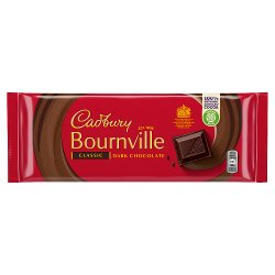 Cadbury Bournville Classic Dark Chocolate Bar 180g