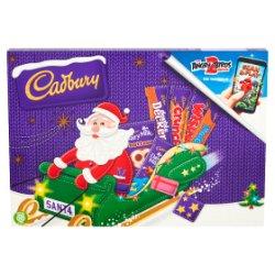 Cadbury Medium Santa Chocolate Selection Box 153g