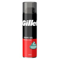 Gillette Classic Men's Shaving Gel Regular 200ml