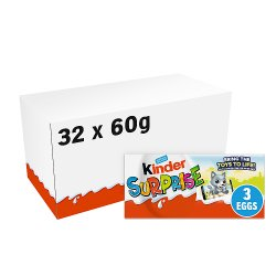 Kinder Surprise Eggs 3 x 20g (60g)