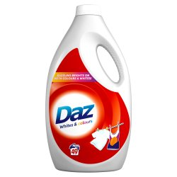 Daz Washing Liquid For Whites & Colours Clothes 49 Washes