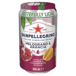 San Pellegrino Pomegranate & Orange 330ml