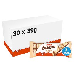 Kinder Bueno White 2 Bars 39g