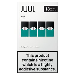 Glacier Mint 18mg/ml JUULpods (Pack of 4)