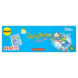 Bebeto Blueraspberry Spaghetti 70g