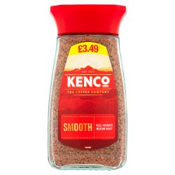 Kenco Smooth Instant Coffee 100g £3.49 PMP