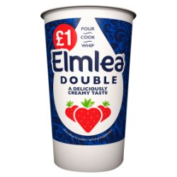 Elmlea Double Cream PM £1