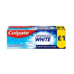 Colgate Toothpaste Advanced White 50ml PMP £1