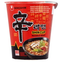 Nongshim Shin Cup Gourmet Spicy Noodle Soup 68g