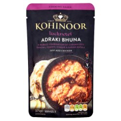 Kohinoor Lucknowi Adraki Bhuna Cooking Sauce 375g