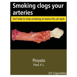 Royals Red 23 Cigarettes