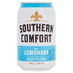 Southern Comfort Lemonade & Lime 330ml