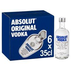 Absolut Original Vodka 6 x 35cl