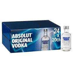 Absolut Original Vodka 24 x 20cl