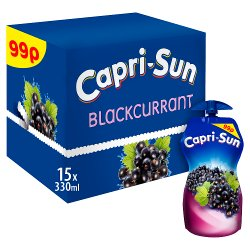 Capri-Sun Blackcurrant 15 x 330ml PM 99p