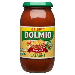 Dolmio Lasagne PMP £1.89 Red Tomato Sauce 500g