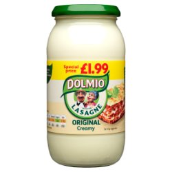 DOLMIO® Sauce for Lasagne Original Creamy 470g