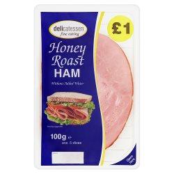 Delicatessen Fine Eating Honey Roast Ham 5 Slices 100g