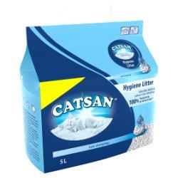 Catsan Hygiene Plus Non Clumping Cat Litter 5 L MPP £3.39