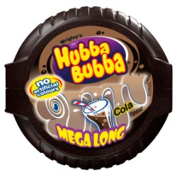 Hubba Bubba Cola Cola Bubblegum Mega Long Tape 56g