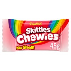 Skittles Chewies Fruits Sweets Bag 45g