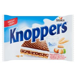 Knoppers Crispy Milk-Hazelnut Wafer 25g
