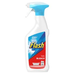 Flash Multi Purpose Cleaning Spray Bleach For Hard Surfaces 450ML