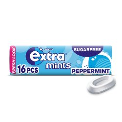 Extra Mints Peppermint Sugar Free 16 Mints