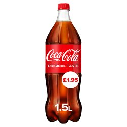 Coca-Cola Original Taste 1.5L PM £1.95