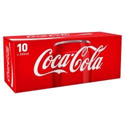 Coca-Cola 10X330ml PMP GBP3.50