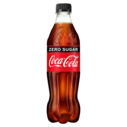 Coca-Cola Zero Sugar 500ml PMP £1.09 or 2 for £2