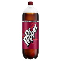 Dr Pepper 2L PMP £1.85 or 2 for £2.89