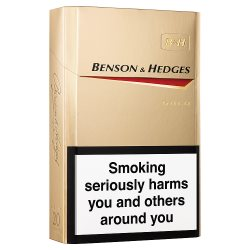 Benson and Hedges KS GOLD 20's